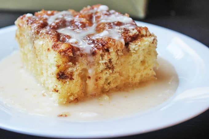 Easy Cinnabon Cake Recipe