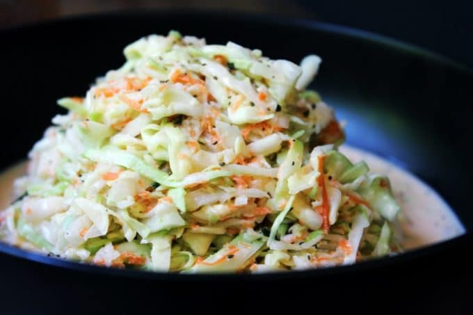 Tony Roma's Cole Slaw - Sweet, Tangy, Delicious Cole Slaw with a hint of celery seed. Part of the perfect BBQ meal this summer!