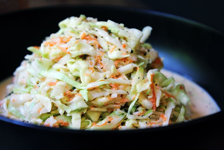 Cole Slaw Up Close