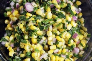 Chipotle Jalapeno Lime Corn Salad