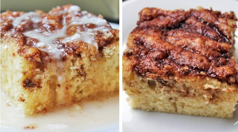 Easy Cinnamon Roll Coffee Cake Dinner Then Dessert
