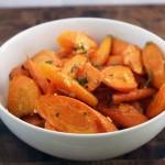 Ginger Garlic Carrots
