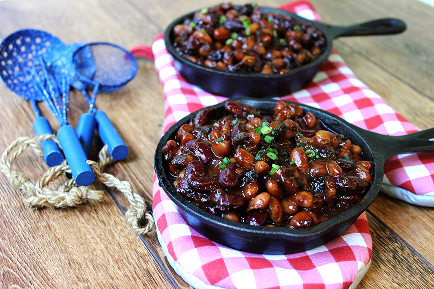 Honey Bacon Baked Beans