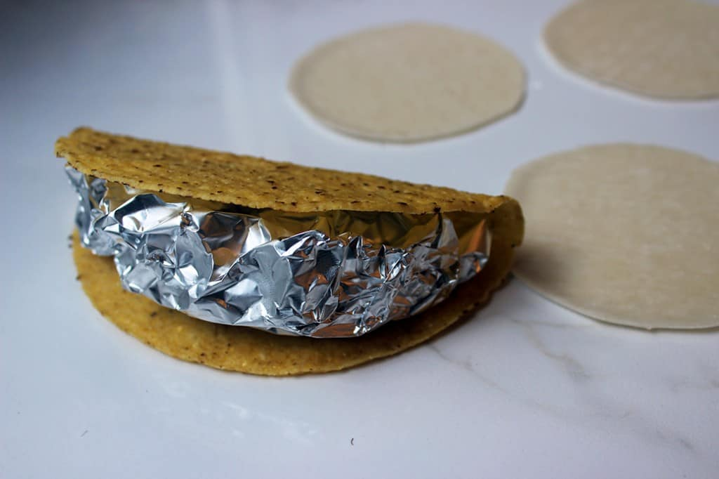 Making Taco Mold