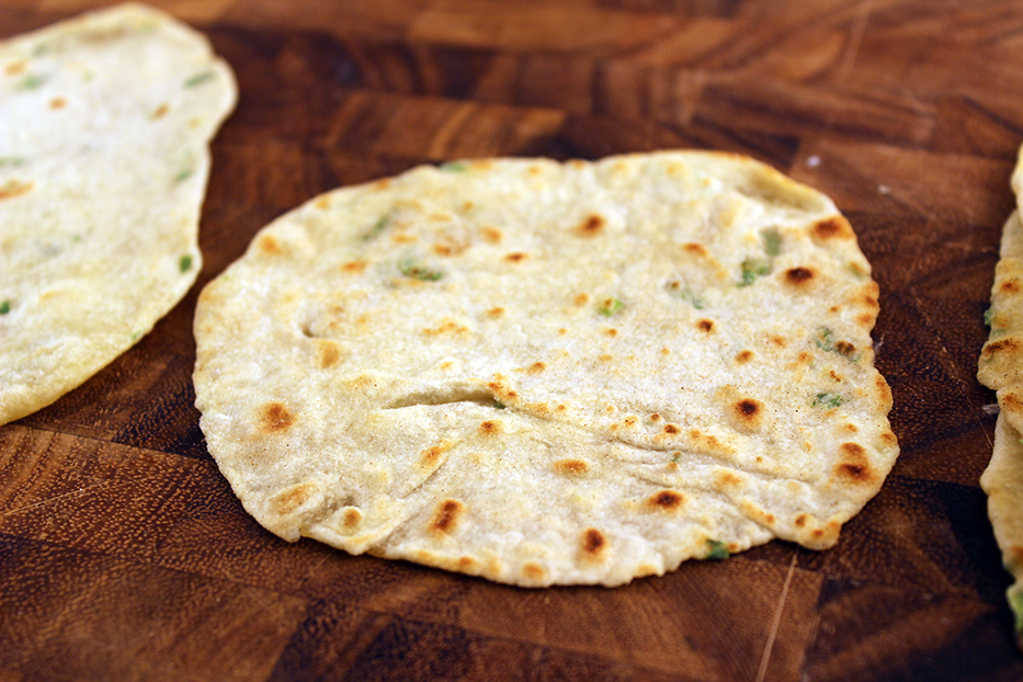 Scallion Tortilla