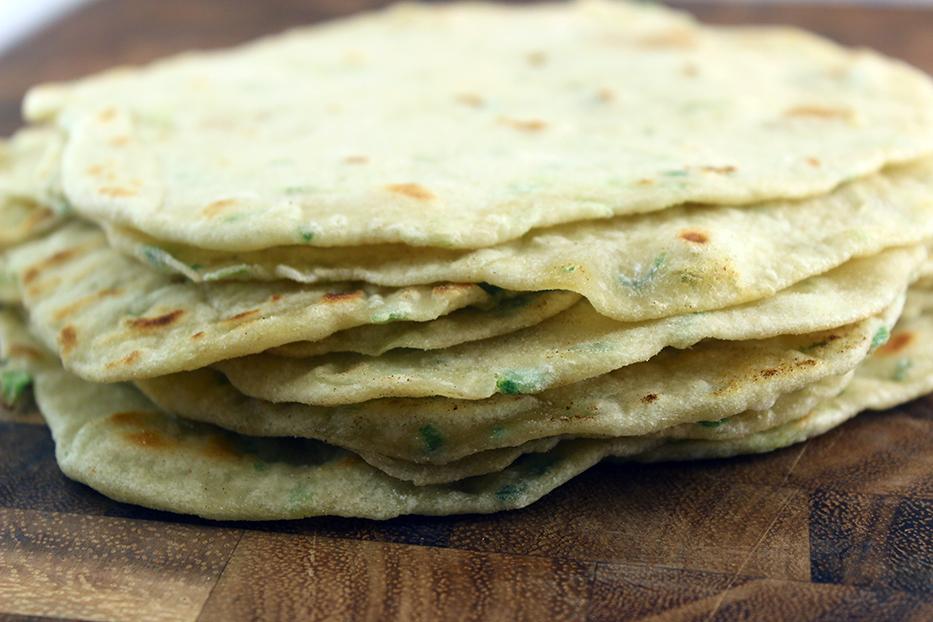 Scallion Tortillas