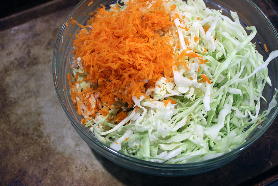 Undressed Cole Slaw