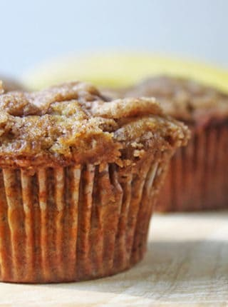 Banana muffins that are the BEST banana muffins