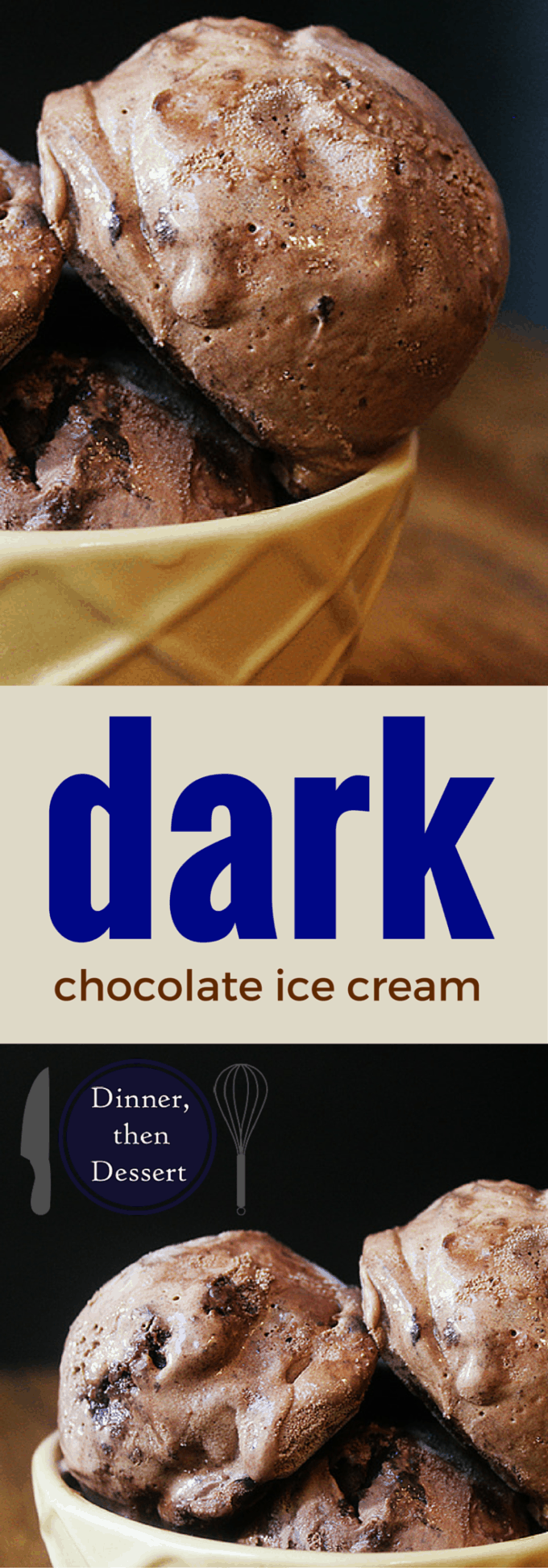 Super Dark Chocolate Ice Cream