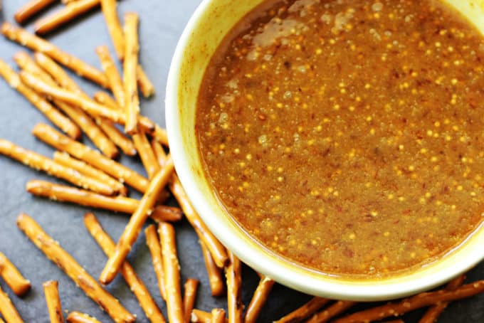 Y Brown Mustard Sweet Honey Raspberry Preserves Make This Dip Addicting