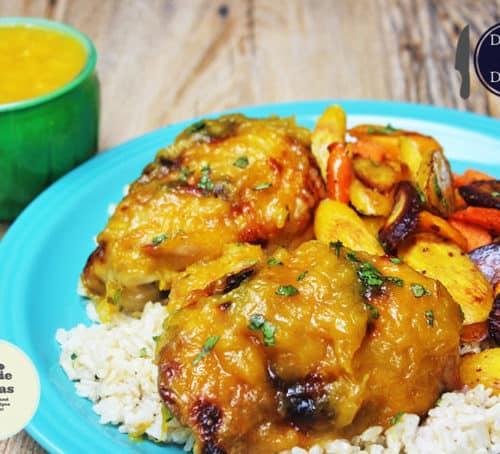 Mango Habanero Preserve Chicken Dinner Then Dessert