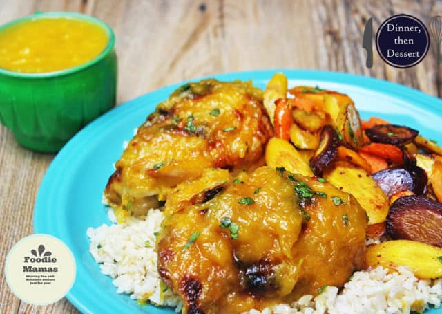 Fresh, ripe mangoes married with the heat of habaneros and sweet honey make a perfect glaze for roasted or grilled chicken. Done in 45 minutes, this dish will impress!