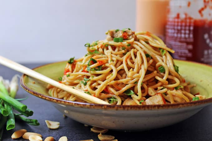 5 ingredient asian peanut noodles a staple pantry recipe dinner sides forumfinder Images