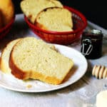 Sweet Hawaiian Bread made with pineapple juice, it's sweeter than a brioche, with a super soft crumb. Perfect for French toast or burgers!