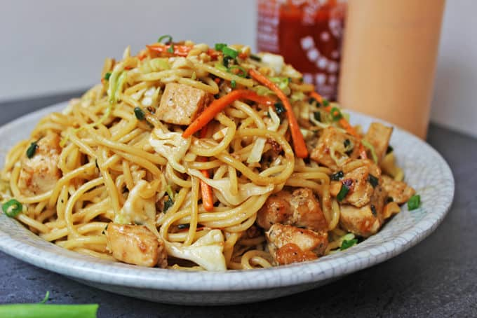 CPK Thai Peanut Chicken Pasta Made With Vegetables And A Honey