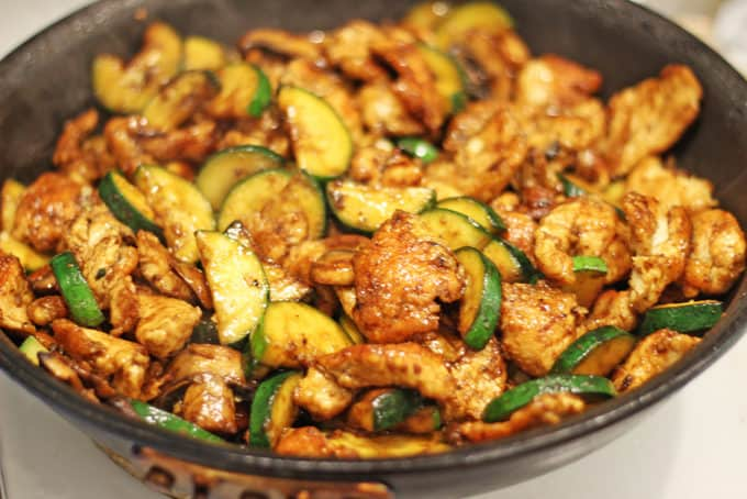 Panda Express Zucchini and Mushroom Chicken in just 20 minutes! You'll ...