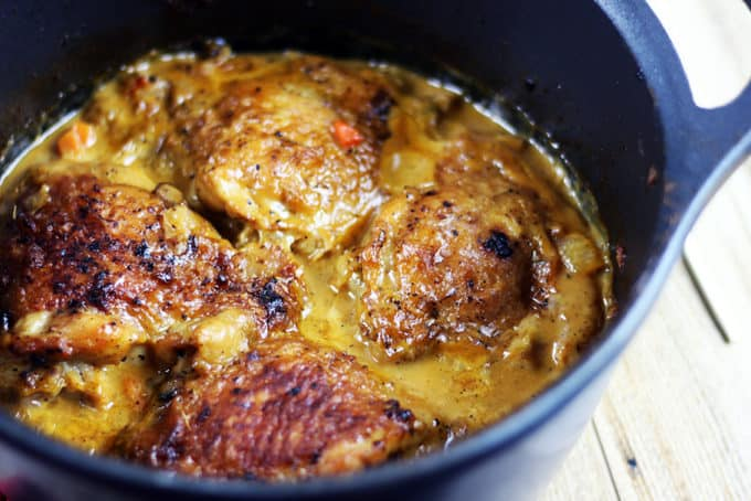 michael smith recipe chicken thighs