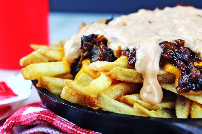 In-N-Out Animal Style French Fries (Copycat)