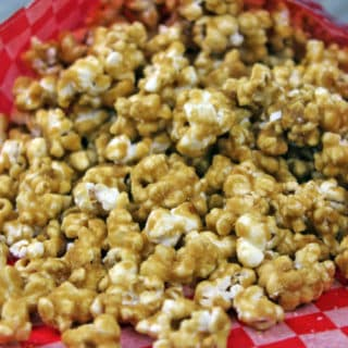 Crispy, chewy, buttery, salty and sweet! What more could you ask for in a recipe? This Caramel Popcorn hits all the notes! With just a few ingredients you'll have the best, freshest, caramel corn you've ever tasted and you'll never go back to the bagged or microwaved variety again!