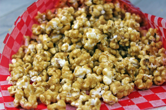 The Best Caramel Popcorn EVER!