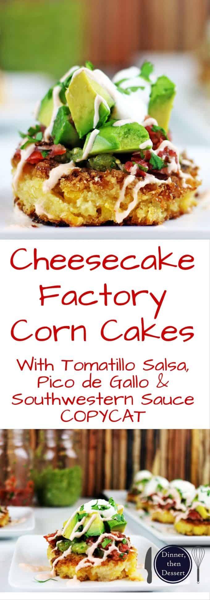 Cheesecake Factory Corn Cakes Calories