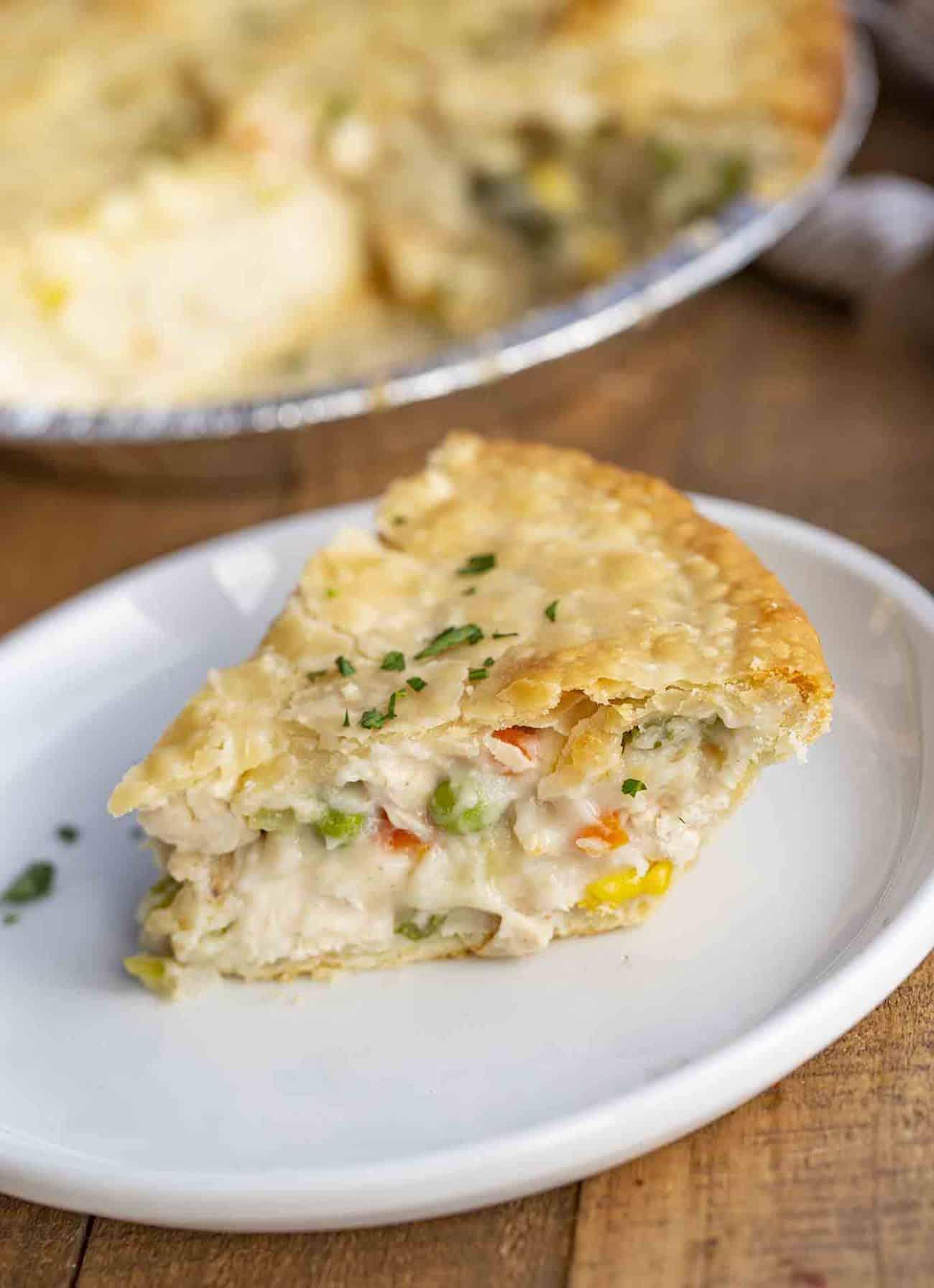 Classic Chicken Pot Pie {Flaky Crust!} - Dinner, then Dessert $7 Chicken Classic