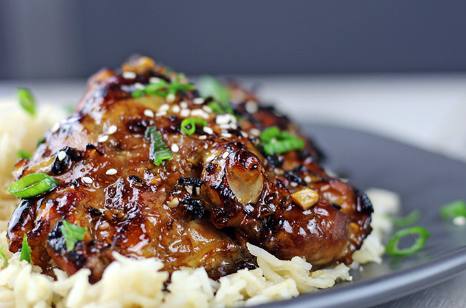 5 Ingredient Sticky Honey Indonesian Chicken