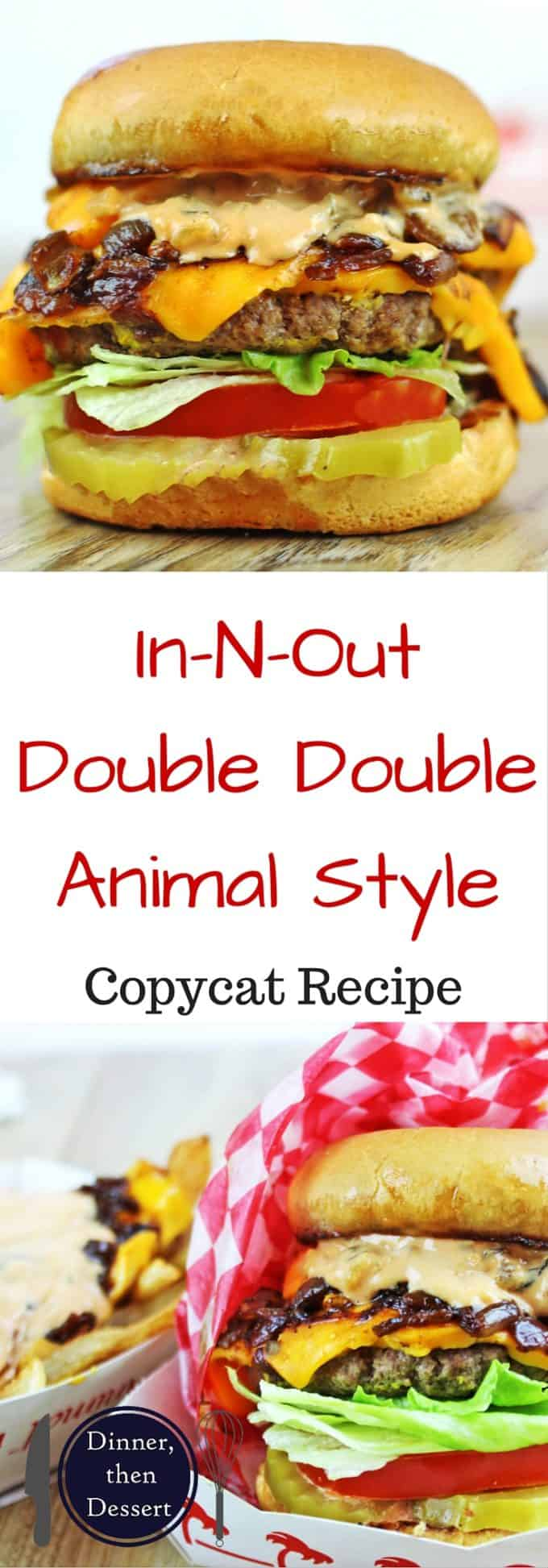 In-N-Out's Double-Double, Animal Style Recipe — Dishmaps
