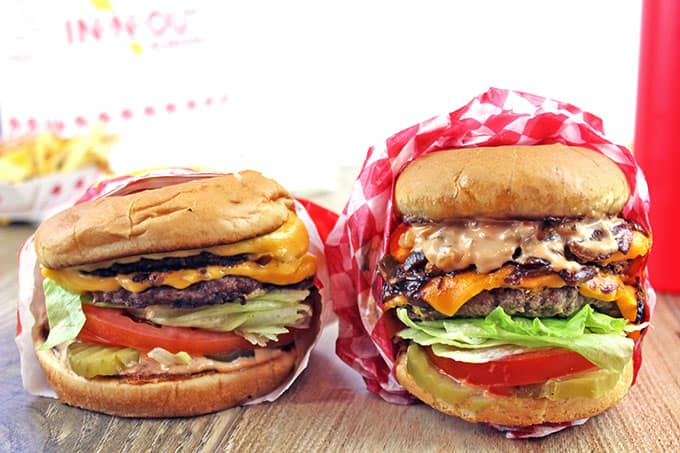 In-N-Out Double Double - Animal Style - Dinner, then Dessert