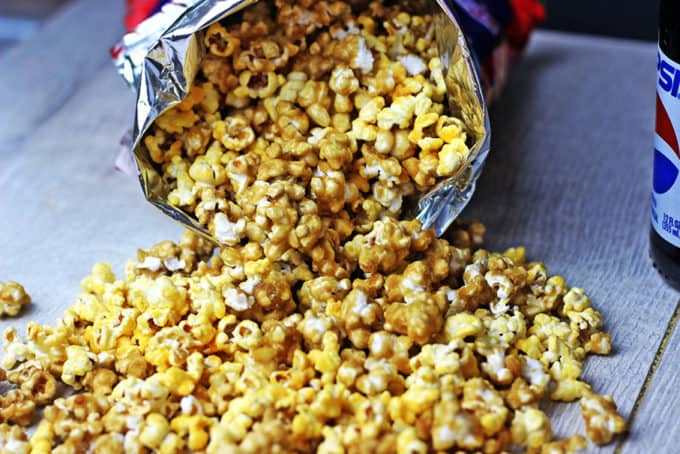 Chicago Popcorn In A Bag