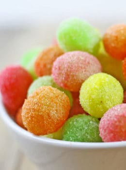 Sour Patch Grapes, the most delicious easy summer dessert with just 2 ingredients!