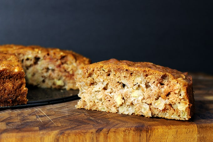 One Bowl Apple And Banana Cake Recipe