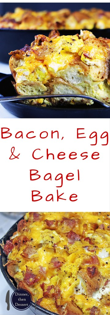 with all the flavors and textures of a egg, bacon and cheese bagel ...