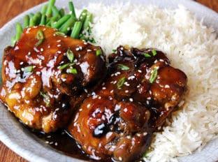 5 ingredient teriyaki chicken marinade