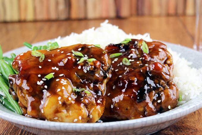 Classic Baked Teriyaki Chicken 5 Ingredients Dinner Then Dessert