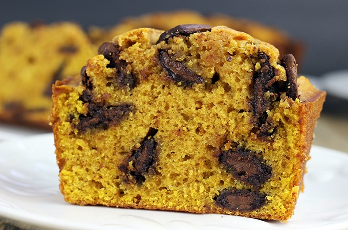 Pumpkin Chocolate Bread