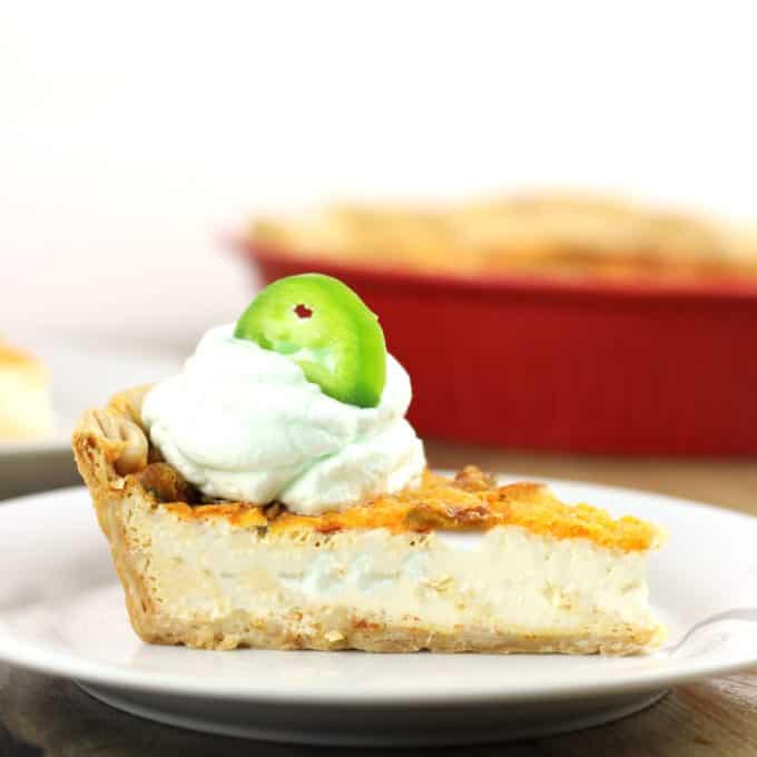 Jalapeno Popper Quiche - Dinner, then Dessert