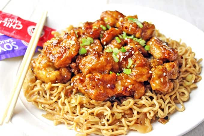 Panda express orange chicken copycat dinner then dessert panda express orange chicken with tender chicken thighs fried crisp and tossed in a magical perfect forumfinder Images