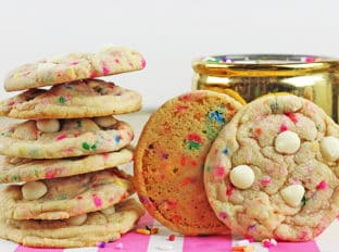 Sprinkles Birthday Cake Cookies