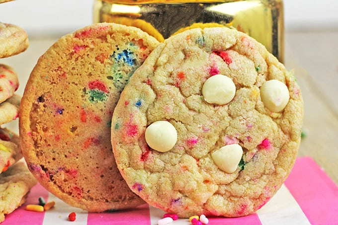 Sprinkle Cake Recipe Joy Of Baking: Sprinkles Birthday Cake Cookies