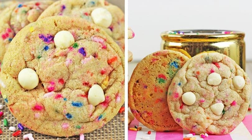 Sensational Sprinkles Birthday Cake Cookies Dinner Then Dessert Funny Birthday Cards Online Necthendildamsfinfo