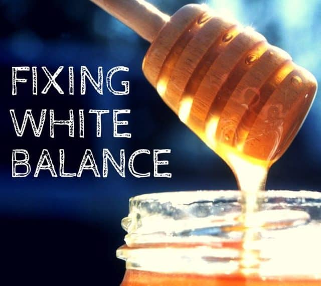 Food Photography: Correcting your White Balance