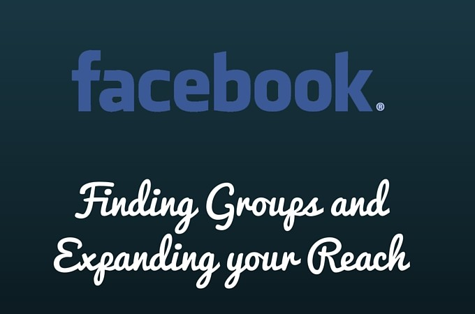 Facebook Marketing: Finding Facebook Groups