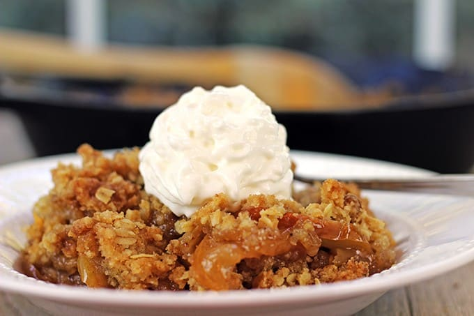 Apple Crisp with Oat Topping Recipe - m