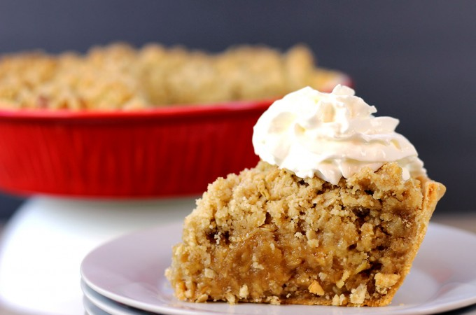 Legendary Apple Crisp Pie