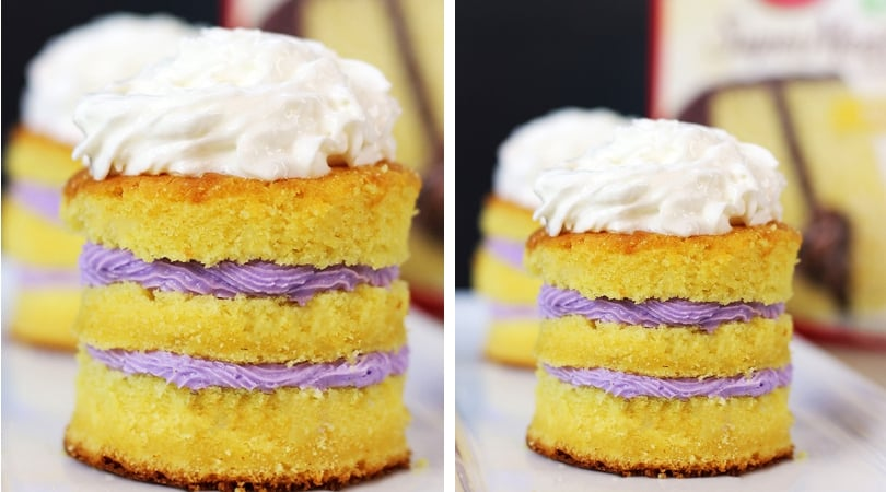 Boxed Cake Mix Hack: Tastes like you paid $6 a slice! - Dinner, then Dessert