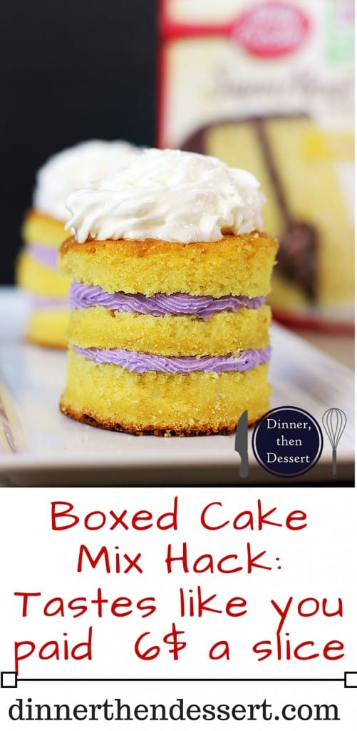 Just A Couple Of Ing Swaps You Can Make Regular Cake Mix Taste Like