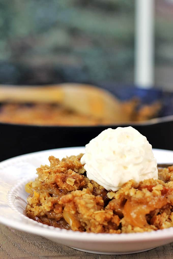 Apple Crisp with Oat Topping Recipe - m 46