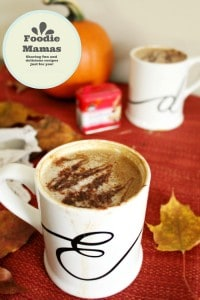 Homemade Vegan Pumpkin Spice Latte