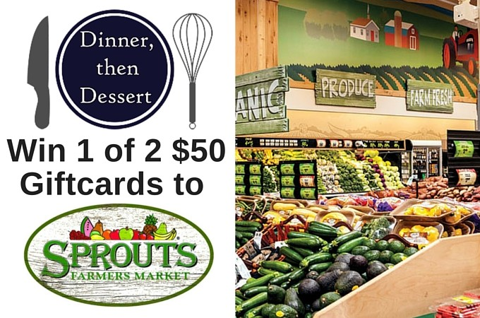 Sprouts Giveaway Winners and Dessert Giveaway Announcement!